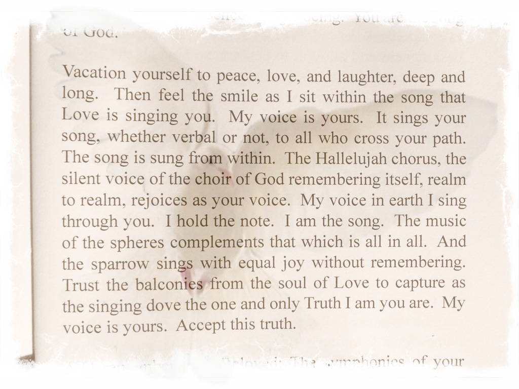 """Selected Quotes from """"The Book of Love"""" - Wings of Spirit"""